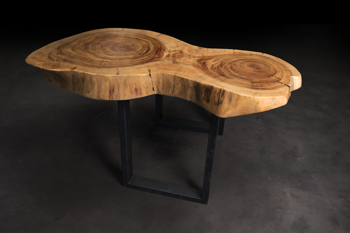 Once a tree live edge furniture design custom made hand made dining table coffee table bar side table wood slab bench modern homedecor